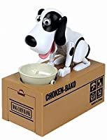 Virtuous * Piggy Bank Coin Munching Toy ,Automated Cute Dog Steal Coin Bank,Money Banks (No Batteries)(Standing Dog) from Virtuous