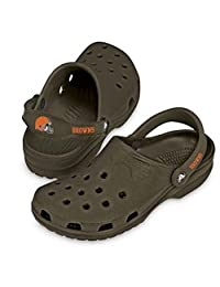 Crocs NFL Cleveland Browns Beach Shoes