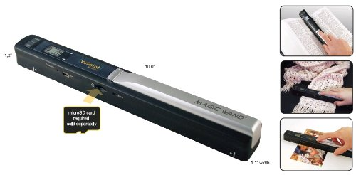 Review Of VuPoint Solutions Magic Wand Portable Scanner (PDS-ST410-VP)