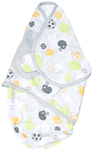 Summer Infant SwaddleMe Adjustable Infant Wrap, Sports Camo, Small/Medium