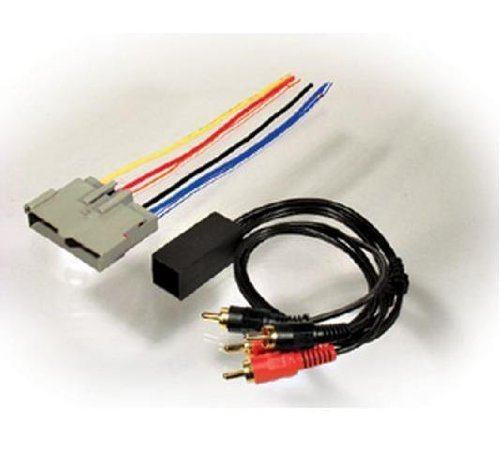 Scosche Radio Wiring Harness for Low Level Head Unit Kit (Mustang Head Unit compare prices)