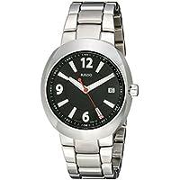 Rado 'D Star' Ceramos Black dial Swiss Quartz Men's Watch with Date Display