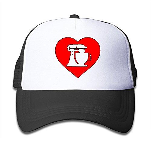 Baking Love Boys Girls Adjustable Snapback Hats Mesh Caps (Crazy Monkey Baking compare prices)