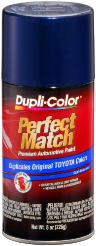 Dupli-Color BTY1623 Dark Blue Pearl Toyota Exact-Match Automotive Paint - 8 oz. Aerosol (Dark Blue Touch Up Car Paint compare prices)