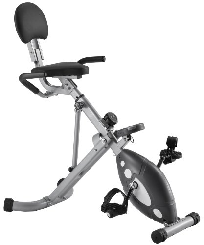 New Sunny Health and Fitness Folding Recumbent Bike