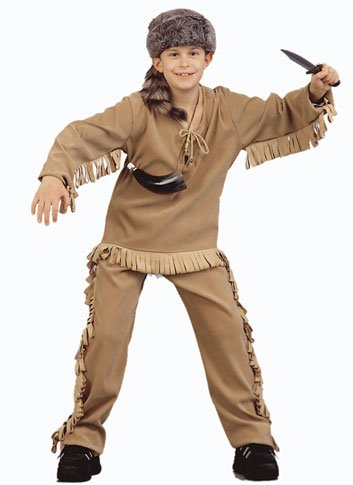 Child'S Daniel Boone Halloween Costume (Size: Medium 8-10)