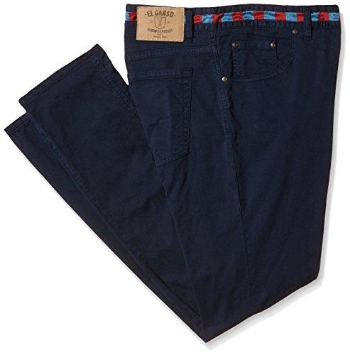 El Ganso -  Pantaloni  - Uomo blu blu 52