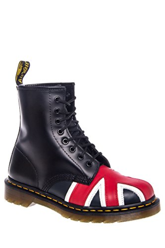Union Jack 8 Eye Lace-Up Boot