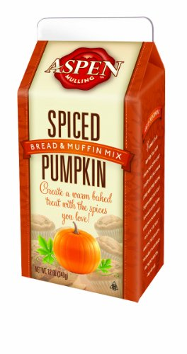 Aspen Mulling Bread and Muffin Mix, Spiced Pumpkin, 12-Ounce (Pack of 4)