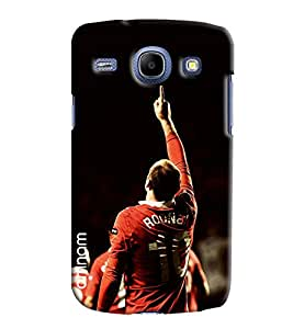 Omnam Wayne Rooney Printed Printed Designer Back Cover Case For Samsung Galaxy Galaxy Core