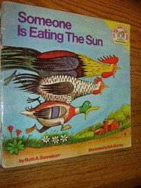 Someone Is Eating the Sun (A Random House Pictureback), Ruth A. Sonneborn
