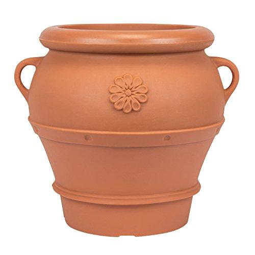Pflanzkasten-Pflanzgef-Blumentopf-Vase-terrakotta-Kunststoff-Amphora-H-53-cm