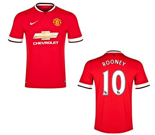 ca6c2940e27 Manchester United Rooney jersey, Manchester United Home jersey 2014 2015  (L). by g2g sport chicago