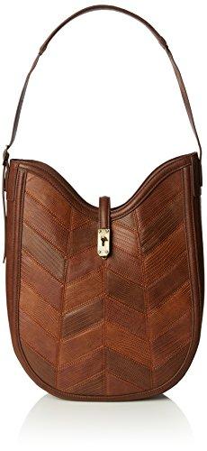 french-connection-patchwork-pearle-hobo-sacs-portes-main-femme-marron-marron-clair
