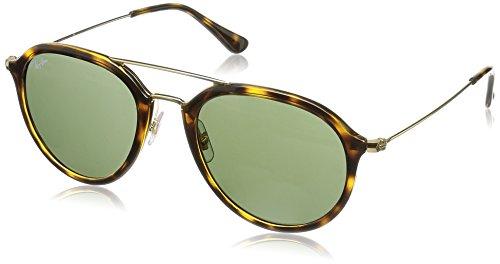 ray-ban-mod-4253-sun-gafas-de-sol-hombremujer-light-havana-frame-with-green-lens-21-millimeters