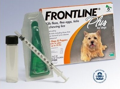 Frontline Plus Value Kit for Dogs 1-22 lbs., 6 Month Supply