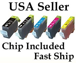 10-Pack Compatible Canon PGI-225 & CLI-226 Ink Cartridges w/Chip USE for CANON PIXMA iX6520 MX882 iP4820 MG5120 MG5220 MG8120 MG6120 MG6220 printers