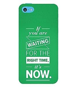 99Sublimation Motivation Quote 3D Hard Polycarbonate Back Case Cover for Apple iPhone 5c