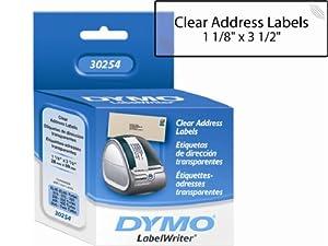 Sanford Lp Clear Address Label 1-1/8 X 3-1/2