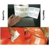 """1 X Inflatable Moon Walk Bounce Bouncer House Repair Patch - Tear Aid 6"""" x 12"""" Patch A"""