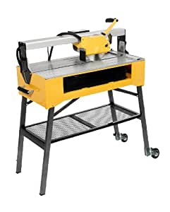 QEP 83200 24-Inch Bridge Tile Saw with Water Pump and Stand