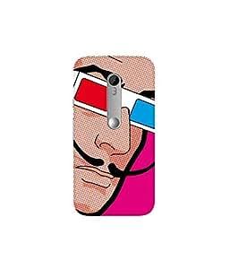 Kolor Edge Printed Back Cover For Motorola Moto G (3rd Gen ) - Multicolor (4389-Ke11043MotoG3Sub)