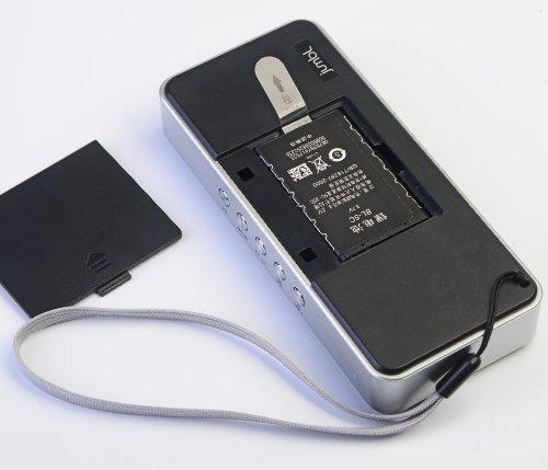 jumbl super slim crystal clear sound pocket size portable stereo speaker digital tuner fm. Black Bedroom Furniture Sets. Home Design Ideas