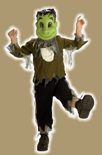 Rubies Boys 'Lil' Monster' Child Costume, Green/Brown, 2-4
