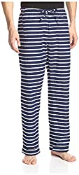 Fingers Crossed Men's Pj Pants, Sea Snake Stripe, 4/X-Large