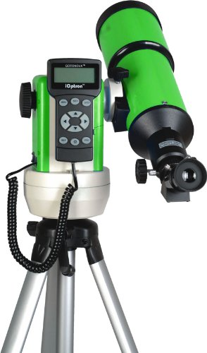 Ioptron 9502G-A Smartstar-R80 Computerized Telescope - Terra Green With Carry Bag