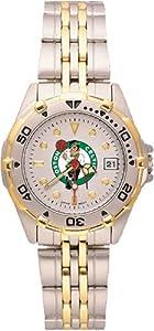 Boston Celtics Ladies All Star Watch Stainless Steel Bracelet by Logo Art