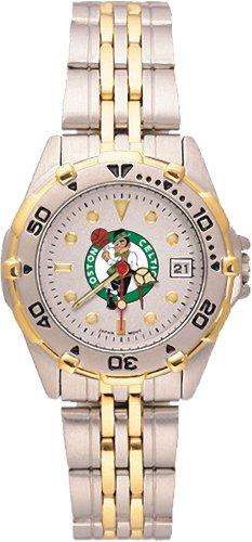 Boston Celtics Women's All Star Watch Stainless Steel Bracelet Logo Art Watches autotags B00127D62E
