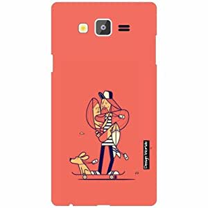 Design Worlds Samsung Galaxy On7 Back Cover - pink Designer Case and Covers