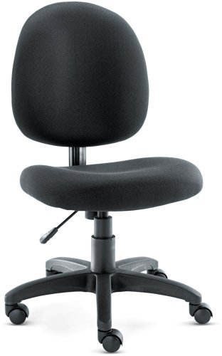 Alera VT48FA10B Swivel Task Chair, Acrylic, Black