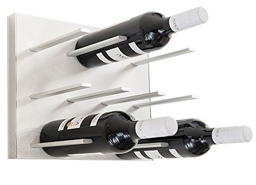 STACT Wall Mounted Wine Rack - Pure White (Stact Modular Wine Rack White compare prices)