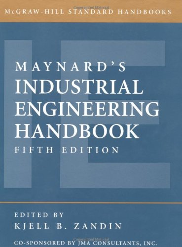 Maynard's Industrial Engineering Handbook