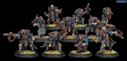 Trencher Commando Unit Cygnar - Forces of Warmachine by Privateer Press