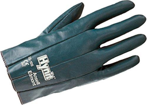 12 paia guanti da lavoro specifici Ansell Edmont Hynit nitril cotone elastici