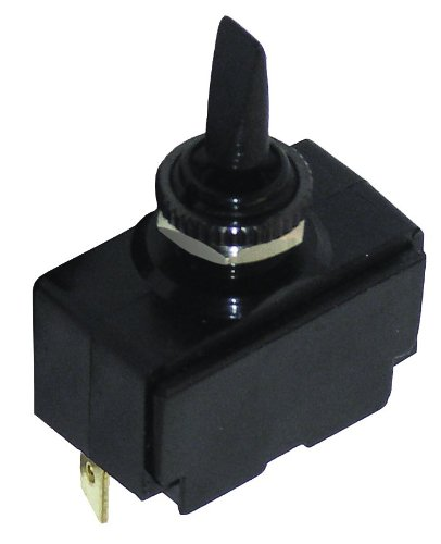 Invincible Marine Toggle On/Off/Mom Switch, Black