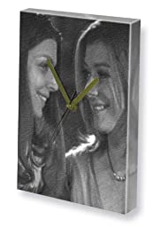ALYSON HANNIGAN & AMBER BENSON - Canvas Clock (A4 - Signed by the Artist) #js002