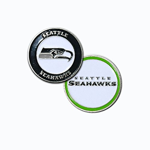Seattle Seahawks Ball Marker Set - 1