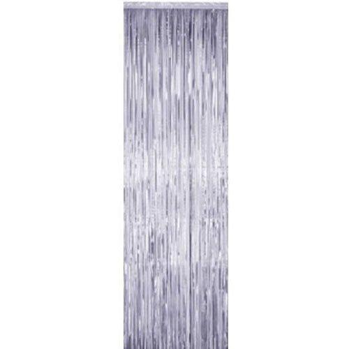 Mylar Curtain 3' x 8' Silver 1 pc