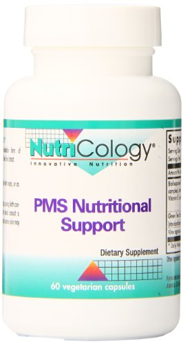 Nutricology Pms Nutritional Support, Vegicaps, 60-Count