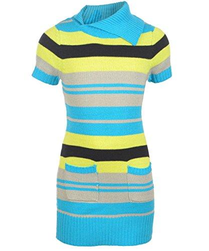 "Diva Big Girls' ""Diana"" Sweater Dress - Lime, 14 - 16 front-1046041"