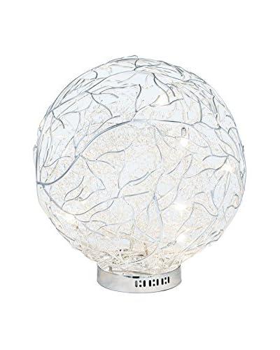 Illuminated Décor 9-Light LED Table Lamp, Silver