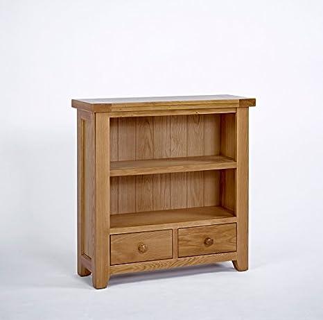 Ametis Devon Oak Low Bookcase BLAMI0474