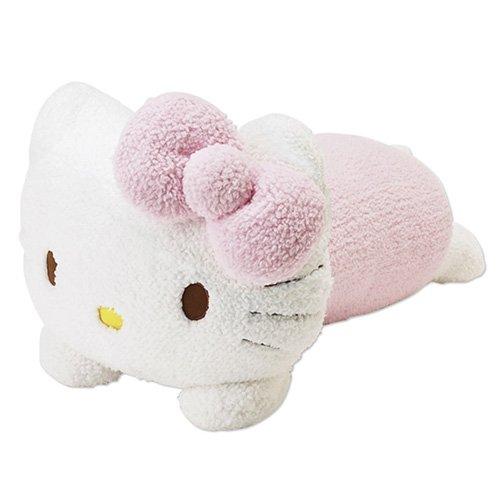 ハローキティ キティ形クッション ピンク