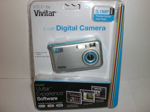 Vivitar 3.1MP Digital Still Camera (VS28B-SILVER)