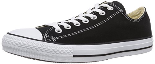 [コンバース] CONVERSE CANVAS ALL STAR OX M9166 BLACK (ブラック/US8(26.5cm))