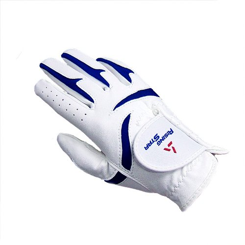 Paragon Golf Boys Rising Star Right Hand Golf Glove, White/Blue - Small